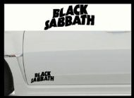 BLACK SABBATH CAR BODY DECALS